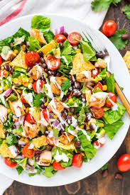 grilled chicken salad. Exellent Chicken BBQ Chicken Salad For Grilled