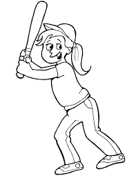 Small Picture baseball coloring pictures dressed in a baseball cap and