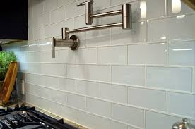 28 [ Kitchen Backsplash Tile Ideas Subway Glass ] Green Glass
