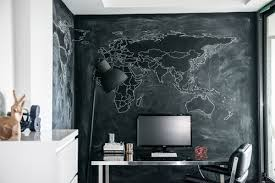 chalkboard office. Industrial Home Office By Toronto Interior Designers \u0026 Decorators LUX Design Chalkboard R