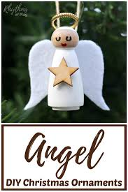 diy angel ornament kids and s can make