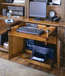 laptop desk with printer shelf uk a drop front drawer tower compartment and printer compartment with