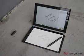 lenovo yoga book review the first isn t always the greatest