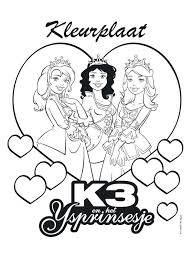 K3 Kleurplaat 88 By Tomytje On Deviantart