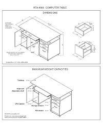 computer desk dimensions computer desk ikea computer desk adjule height