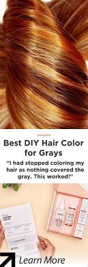 Forget Traditional Hair Dye Try This