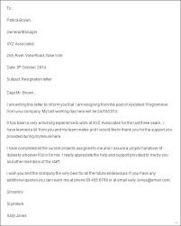Letter Of Resignation 2 Weeks Notice Template Beauteous Professional Two Week Notice 48 Letter Samples Weeks Sample New