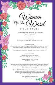 Words For Church Women Of The Word First Fundamental Bible Church