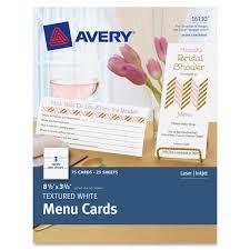 Avery Laser Inkjet Print Note Card Ave16110