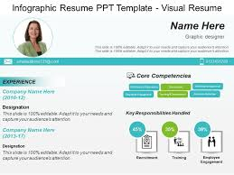Resume In Powerpoint Infographic Resume Ppt Template Visual Resume Ppt Images