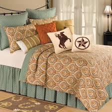 western bedding king size valencia quilt lone star decor