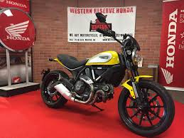 used 2016 ducati scrambler icon motorcycles in mentor oh stock