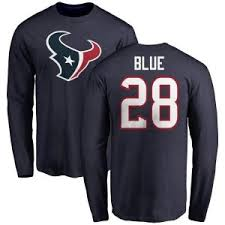 Alfred Blue Shirt   Houston Texans Alfred Blue T-Shirts - Texans Store