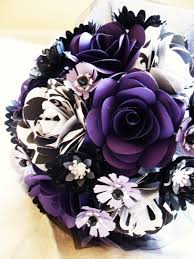 Purple And Black Flowers For A Wedding Best Purple Wedding