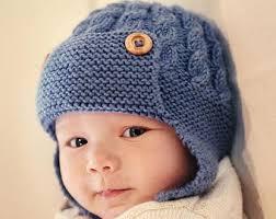 Earflap Hat Knitting Pattern Classy PDF Knitting Pattern Baby Hat Pattern Earflap Hat Pattern Etsy