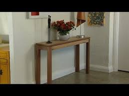 cheap hallway table. How To Build A Console Table Cheap Hallway