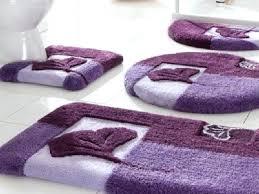 purple bath rugs purple bathroom set with round bath rug large purple bathroom rugs