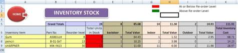 Free Excel Inventory Template Abcaus Excel Inventory Template And Tracker Download