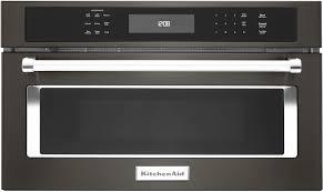 kitchenaid black stainless. kitchenaid - kmbp107ebs microwaves kitchenaid black stainless l