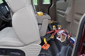 Pickup Truck Behind Back Seat Gun Box - Ford F-150 Regular Cab ...