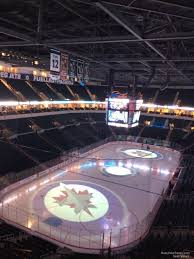 Bell Mts Place Section 326 Winnipeg Jets Rateyourseats Com