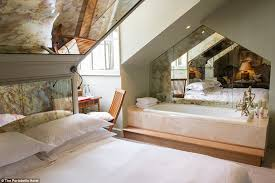 better rooms like this one have a king sized bed and an intimate
