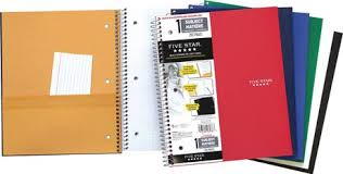 Five Star Graph Paper Notebook Five Star Wirebound Notebooks Graph Rule 1 Subject 11 X