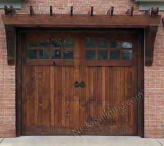 10x8 garage doorWood Garage Doors  Wooden Overhead Door  Paint Grade Garage Doors