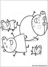Peppa Pig Coloring Pages On Coloring Bookinfo
