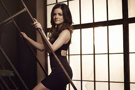 Lucy Hale in Pretty Little Liars Poster