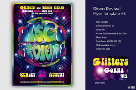revival flyers templates disco revival flyer template v3 by tdst design bundles