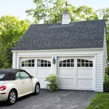 Image Carriage House Custom Carriagehouse Doors Cuppola And Lanternstyle Light Fixture Transform This Garage From Eye Sore To Architectural Attraction Pinterest Diyers Delight In Colonial Revival Remodel Curb Appeal