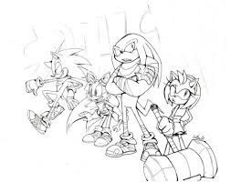 Sonic Coloring Pages - diaet.me