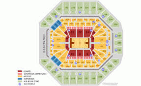 San Antonio Spurs Home Schedule 2019 20 Seating Chart