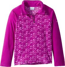 Plum Size Chart Amazon Com Columbia Kids Girls Glacial Ii Fleece Print