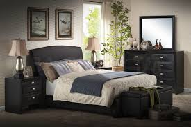 bedroom large black furniture