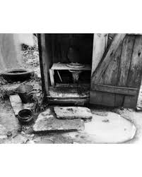 stretched canvas art outdoor toilet 1935 na typical outhouse in the slum on typical wall art size with great deal on stretched canvas art outdoor toilet 1935 na