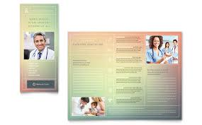Healthcare Brochure Impressive Medical Pamphlet Template Engneeuforicco