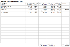 Monthly Dues Template Excel Expense Excel Yolarcinetonicco 712841030325 Bill