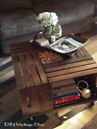 pallet crate furniture. pallet crate furniture ideas photograph diy vintage chic wine coffee table