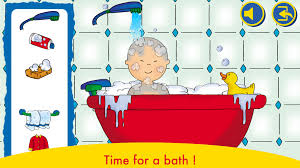 a day with caillou tap tap tales