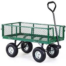 h m s remaining heavy duty folding garden trolley
