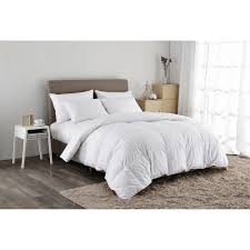 puredown 500 thread count white goose down comforter twin in white pd gc15003 t the home depot