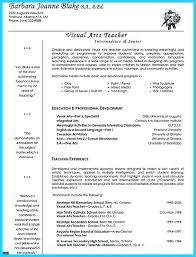Art Teacher Resume Art Resume Templates Makeup Artist Resume Art