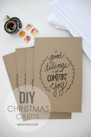 Diy Christmas Cards 17 Beautiful Diy Homemade Christmas Card Ideas