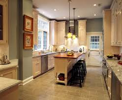 Narrow Kitchen Islands ...