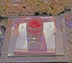 blinging charger plate