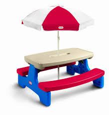 plastic kids picnic table