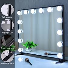 hollywood style 14 bulbs makeup mirror