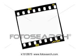 Film Strips Pictures Drawing Of Slide Film Strips With Empty Frames K1512673 Search